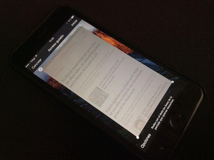 bloquear app touch id ios