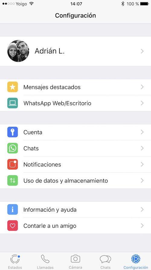 estados whatsapp iphone