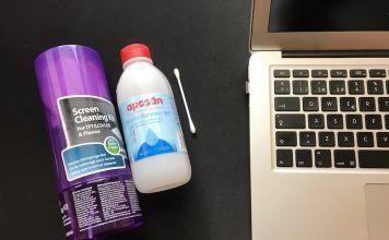 productos limpiar pantalla macbook