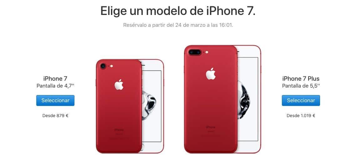 iphone red precios