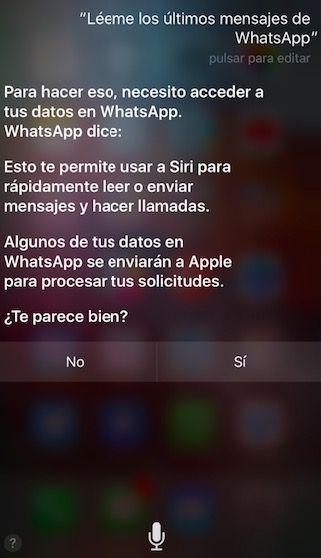 Descargar WhatsApp 2.17.20: Siri te lee los mensajes