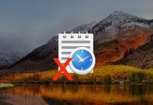 borrar archivos recientes mac