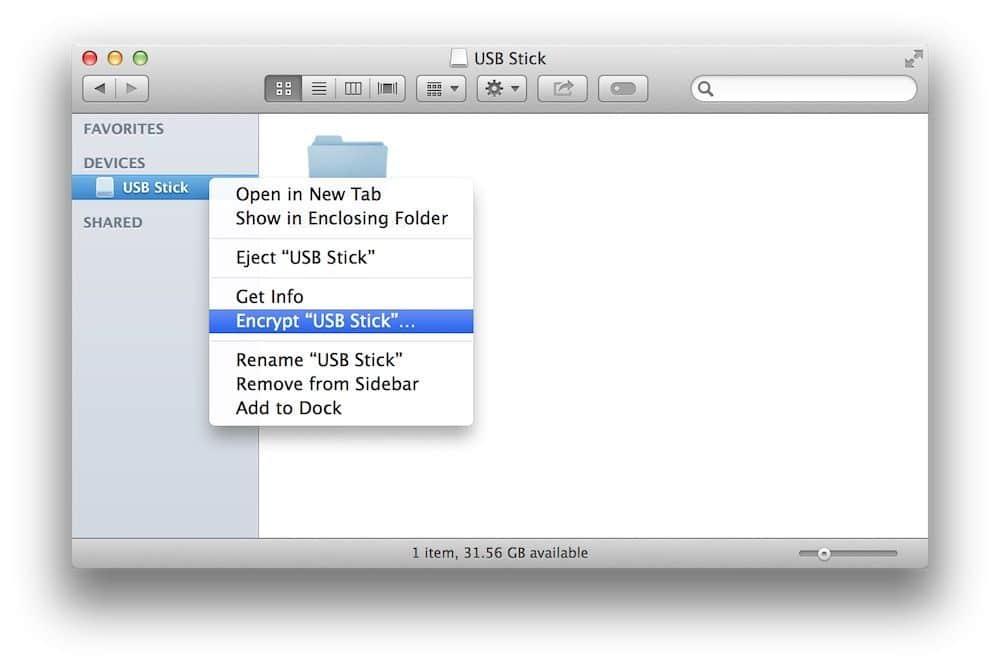 encriptar disco externo macos