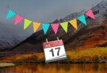 ver festivos calendario mac