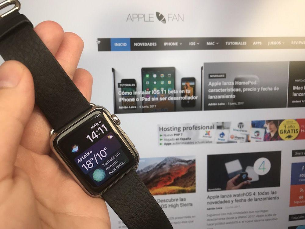 watchos 4 instalado