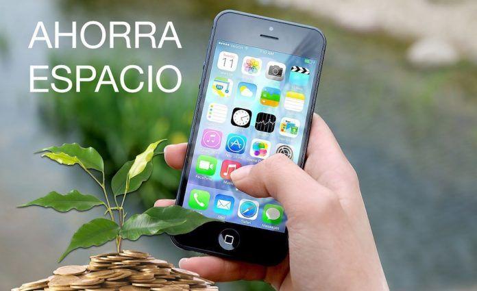 ahorrar espacio iphone
