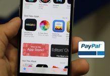 pagar con PayPal en App Store