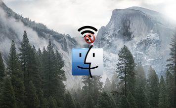 como eliminar una red wifi en mac