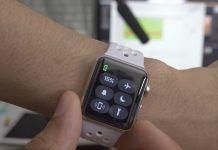 usar un Apple Watch como linterna