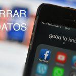 ahorrar datos facebook para iphone