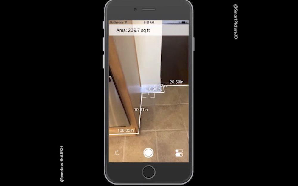 As podr s medir una habitaci n con arkit de ios 11 for Aplicacion para buscar habitacion