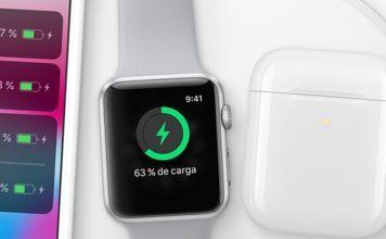 Apple Watch compatibles con la carga inalámbrica AirPower