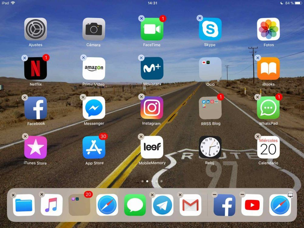 borrar apps recientes ios 11