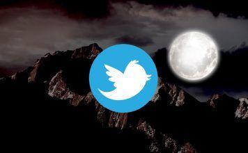 activar modo noche twitter macos