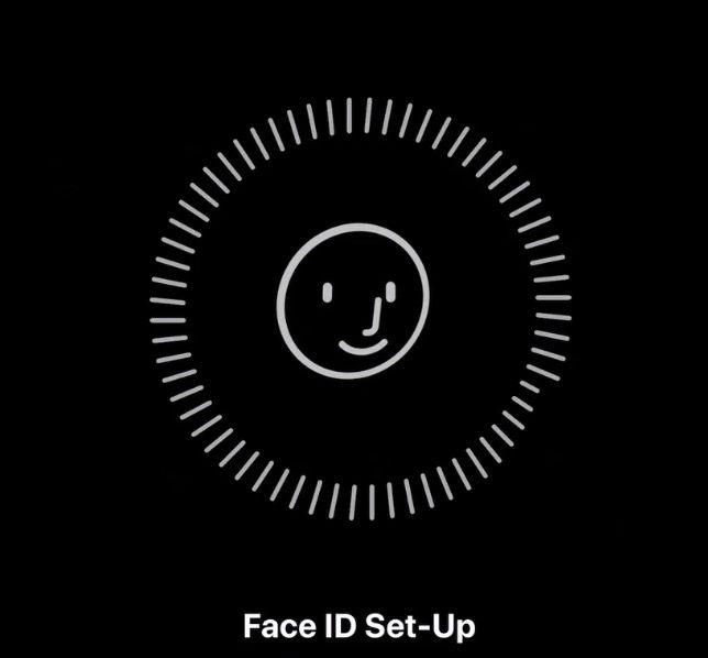 configuracion face id