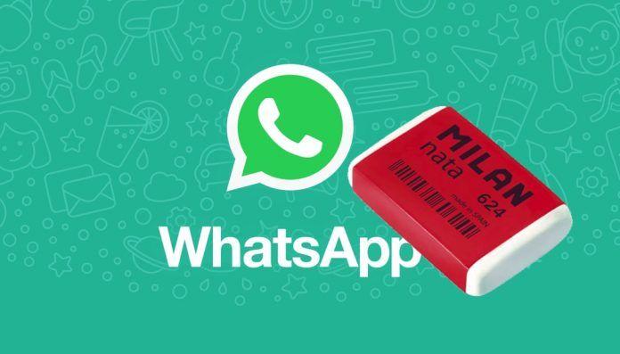 borrar mensajes whatsapp iphone