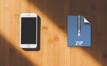 descomprimir zip en iphone ipad