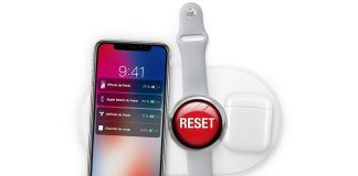 forzar el reinicio en iPhone X