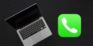 hacer llamadas desde el Mac