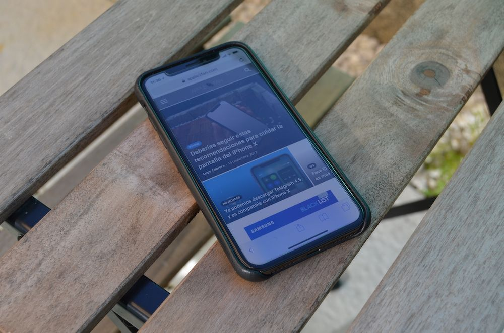 carcasa mujjo iphone x frontal