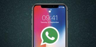 whatsapp iphone x