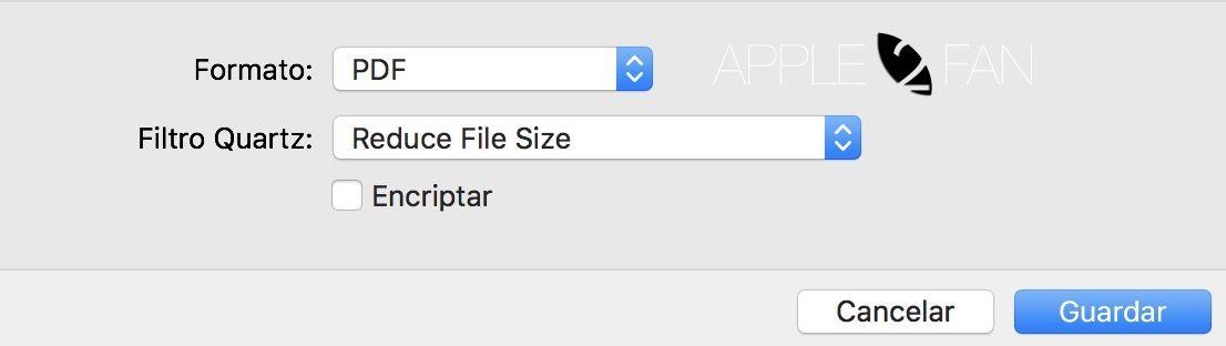 reducir pdf en mac