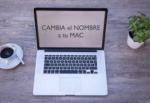 cambiar nombre mac