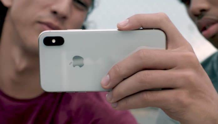 usar el iPhone X con una sola mano