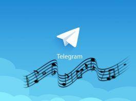 escuchar musica iphone telegram