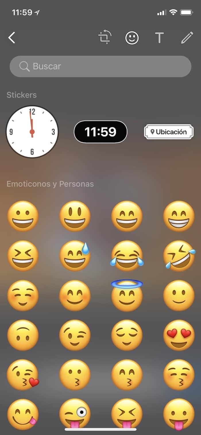 stickers ubicacion y tiempo whatsapp