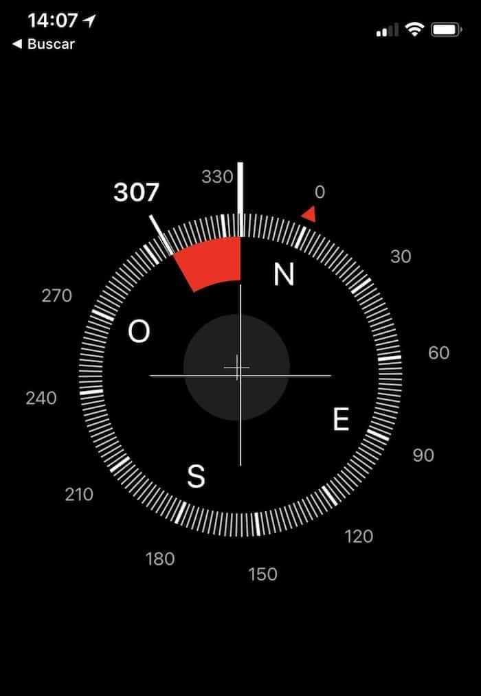 calibrar sensor movimiento iphone