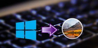 configurar teclado windows en mac