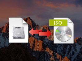 convertir DMG a ISO en macOS