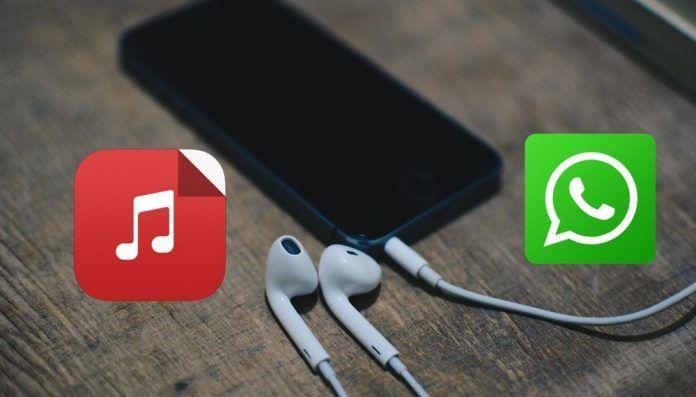enviar musica MP3 WhatsApp iPhone