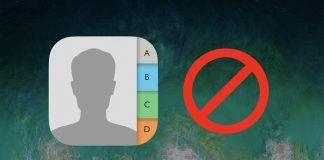 bloquear un contacto desde iphone