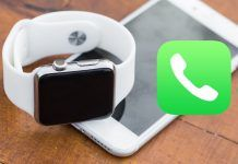 hacer llamadas WiFi Apple Watch