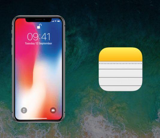 notas en pantalla bloqueada iphone