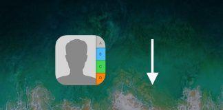 ordenar contactos nombre iphone