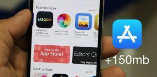 descargar apps 150 mb datos iphone
