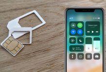 extraer sim iphone