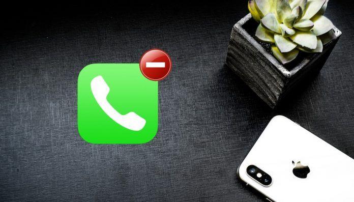 rechazar una llamada con el iPhone bloqueado