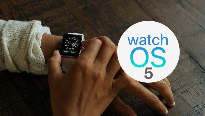 Apple Watch compatibles watchos 5