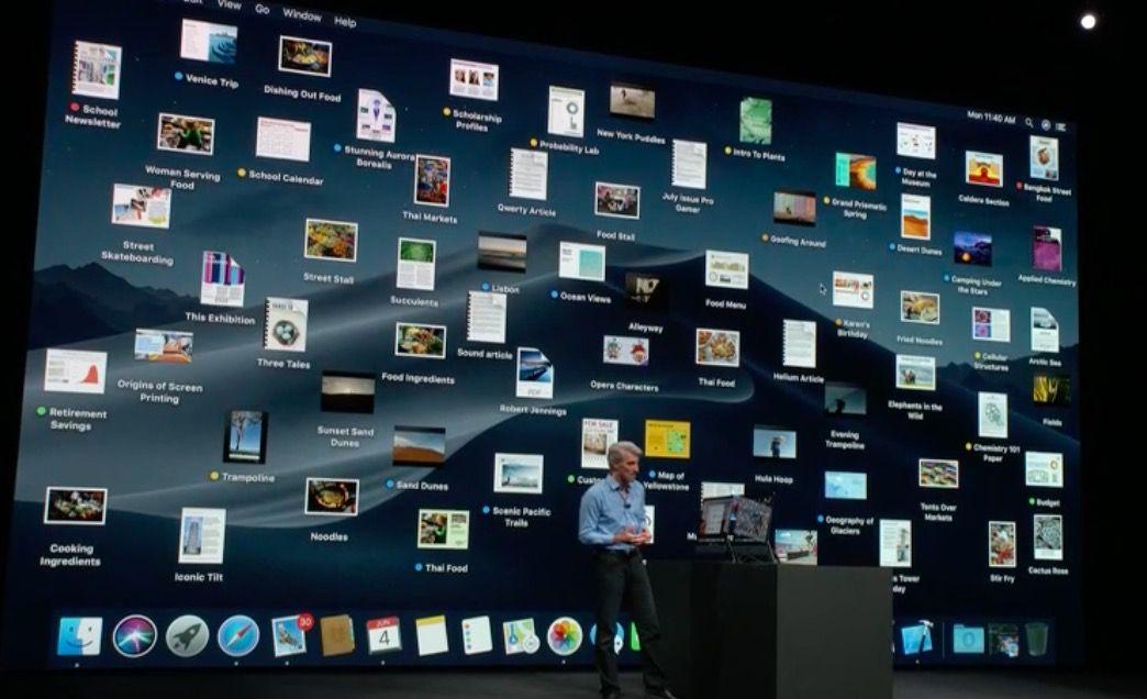 Lista de novedades de macOS Mojave
