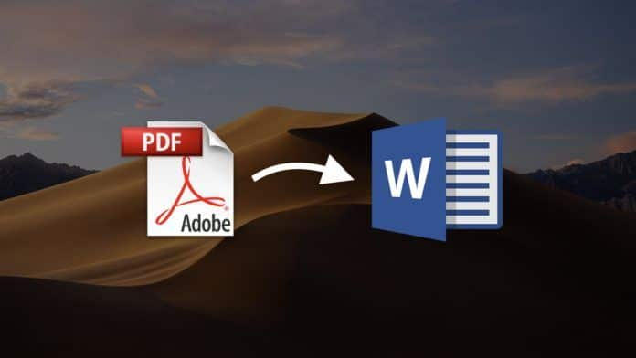 convertir pdf a word doc