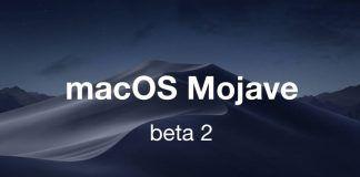 macOS 10.14 Mojave beta 2