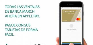 BBVA y Banca March compatibles con Apple Pay