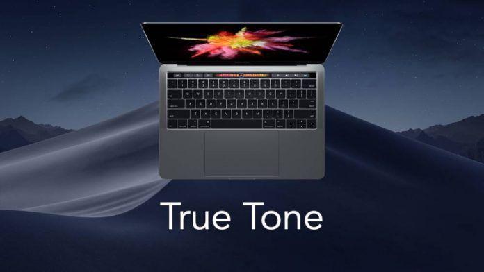 activar true tone en mac