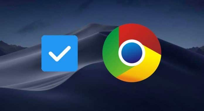 arreglar los checkbox de Google Chrome en macOS Mojave