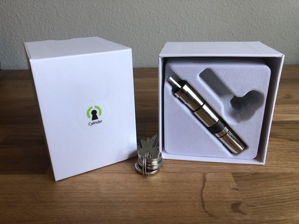 caja cilindro danalock v3