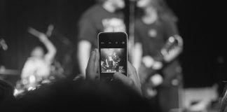 mejores fotos en festivales y conciertos iphone